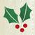 Christmas wooden mistletoe silhouette stock photo © cienpies