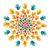 spirituális · szimbólum · mandala · szertartás · hinduizmus · univerzum - stock fotó © cienpies