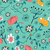 seamless floral pattern stock photo © cienpies