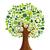 medios · de · comunicación · social · árbol · forma · familia · hombre - foto stock © cienpies
