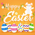 kellemes · húsvétot · üdvözlőlap · ünnep · húsvéti · tojások · tavasz · dekoratív - stock fotó © cienpies