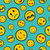 cute emoji designs seamless pattern stock photo © cienpies