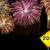 feliz · ano · novo · fogos · de · artifício · placa · sinalizadora · 2013 · ano · amarelo - foto stock © cienpies