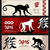 happy chinese new year monkey 2016 banner set stock photo © cienpies