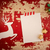 christmas deer paper card top view template stock photo © cienpies