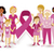 breast cancer awareness women people ribbon united stock photo © cienpies