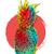 zomer · ananas · kunst · kleurrijk · verf · stijl - stockfoto © cienpies