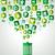 verde · riciclare · vettore · ottimo - foto d'archivio © cienpies