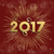 happy new year 2017 firework design in gold stock photo © cienpies