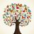 branche · laisse · vecteur · feuilles · vertes · arbre - photo stock © cienpies