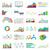 zestaw · wektora · działalności · wykresy · statystyczny - zdjęcia stock © cifotart