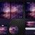 corporate identity template design purple color business set stationery stock photo © cifotart