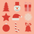 Natale · icone · inverno · vacanze · raccolta · cerchio - foto d'archivio © ciklamen