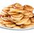 パンケーキ · 白 · プレート · 孤立した · キッチン - ストックフォト © Cipariss