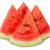 fél · édes · görögdinnye · fehér · víz · gyümölcs - stock fotó © cipariss