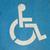 deficientes · carro · motorista · cadeira · de · rodas · retrato · estrada - foto stock © cla78