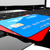 vermelho · azul · cartões · de · crédito · dois · isolado · branco - foto stock © cla78