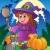 halloween character scene 4 stock photo © clairev