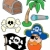 pirate collection 2 stock photo © clairev