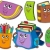 back to school collection 5 stock photo © clairev