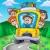 bus · scolaire · route · couleur · illustration · homme · enfant - photo stock © clairev