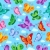 butterfly seamless background 2 stock photo © clairev