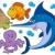 vízi · állatok · gyűjtemény · arc · ló · tenger - stock fotó © clairev