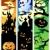 halloween banners set 5 stock photo © clairev