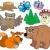 forest animals collection 3 stock photo © clairev
