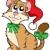 漫画 · 猫 · クリスマス · セット · 赤 · 面白い - ストックフォト © clairev