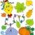 autunno · oggetti · set · arte · foglie · vestiti - foto d'archivio © clairev