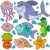 aquatic animals collection stock photo © clairev