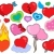 valentine hearts collection 1 stock photo © clairev