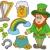 帽子 · 虹 · 聖パトリックの日 · アイルランド · 緑 - ストックフォト © clairev
