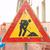 construção · de · estradas · sinais · laranja · estrada · perigo - foto stock © claudiodivizia