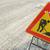 rua · estrada · fechado · assinar · fronteira · em · torno · de - foto stock © claudiodivizia