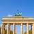 ゲート · ベルリン · ドイツ · 建物 · 建設 · ドア - ストックフォト © claudiodivizia