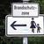 voetganger · verkeersbord · gebouwen · stad · teken · Blauw - stockfoto © claudiodivizia
