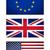 USA · banderą · flagi · flaga · brytyjska · odizolowany · biały - zdjęcia stock © claudiodivizia