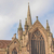 groot · kerk · toren · oude · gekleurd - stockfoto © claudiodivizia