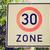 30 · hız · limiti · imzalamak · hızlandırmak · yol · işareti · beyaz - stok fotoğraf © claudiodivizia