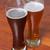 two glasses of german beer stock photo © claudiodivizia