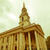 Londen · vierkante · kerk · Engeland · hemel · straat - stockfoto © claudiodivizia