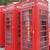 czerwony · telefon · polu · Londyn · ikonowy · telefonu - zdjęcia stock © claudiodivizia