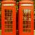 retro looking london telephone box stock photo © claudiodivizia