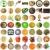 gombák · kollázs · gyűjtemény · ehető · fehér · étel - stock fotó © claudiodivizia