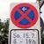 нет · улице · подписать · знак · войны · флаг · силуэта - Сток-фото © claudiodivizia