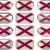 doze · botões · bandeira · Alabama - foto stock © clearviewstock