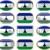 двенадцать · Кнопки · флаг · Лесото - Сток-фото © clearviewstock
