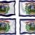 bandera · Virginia · ordenador · generado · ilustración · sedoso - foto stock © clearviewstock